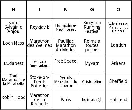 european marathons 3 bingo