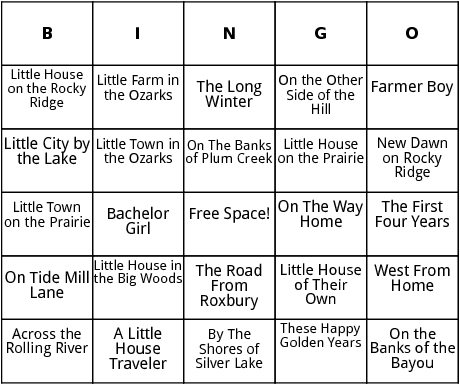 little house books bingo